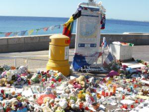 Promenade in Nizza an der Stelle des Attentates