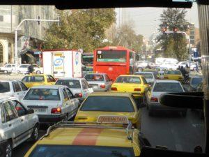 Auf den Straßen von Teheran